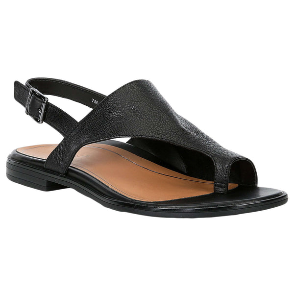 Vionic Citrine Ella Leather Womens Sandals#color_black