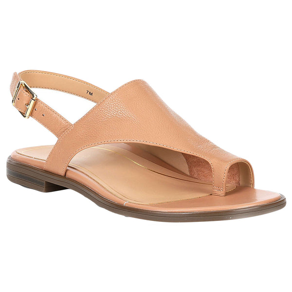 Vionic Citrine Ella Leather Womens Sandals#color_nude