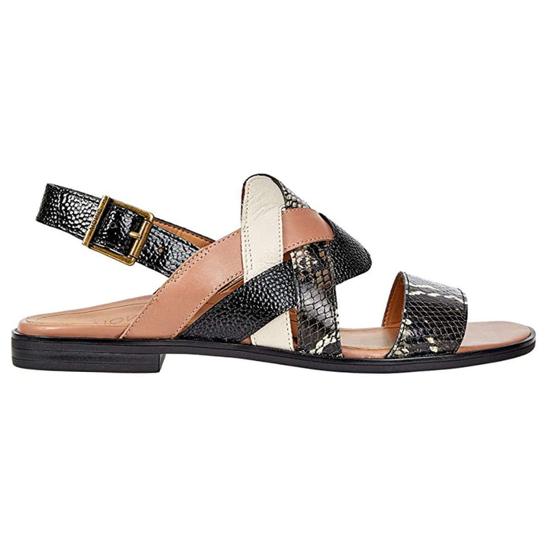 Vionic Citrine Kendra Leather Womens Sandals