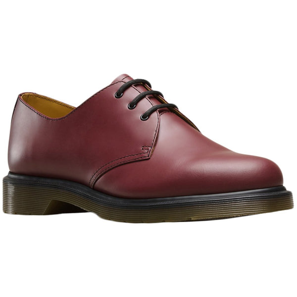 Dr.Martens 1461 Pw Smooth Leather Unisex Shoes#color_cherry red