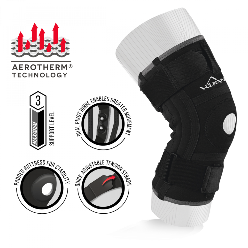 Vulkan Stabilising Knee Support - Adjustable Knee Support
