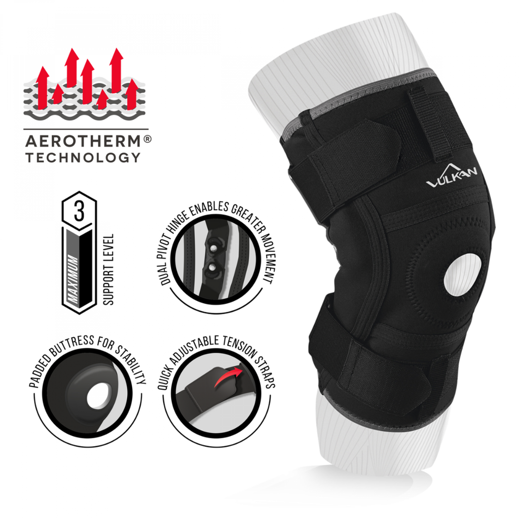 Vulkan Hinged Knee Support - Knee Ligament Support & Protection