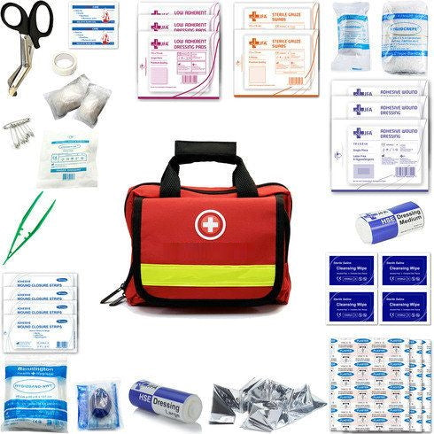 180 Piece Comprehensive First Aid Kit