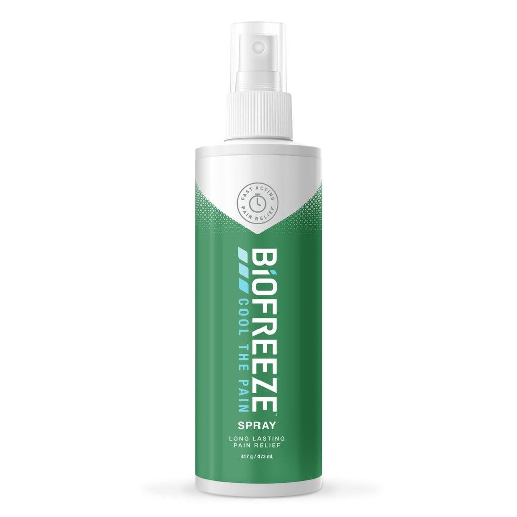 Biofreeze Pain Relief Spray - For Muscle Pain, Back Aches and Arthritis