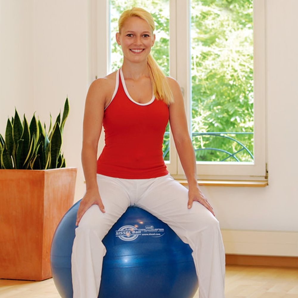 Sissel Exercise Ball, Perfect for Pilates, Home Workouts and Pregnant Birthing Ball Use