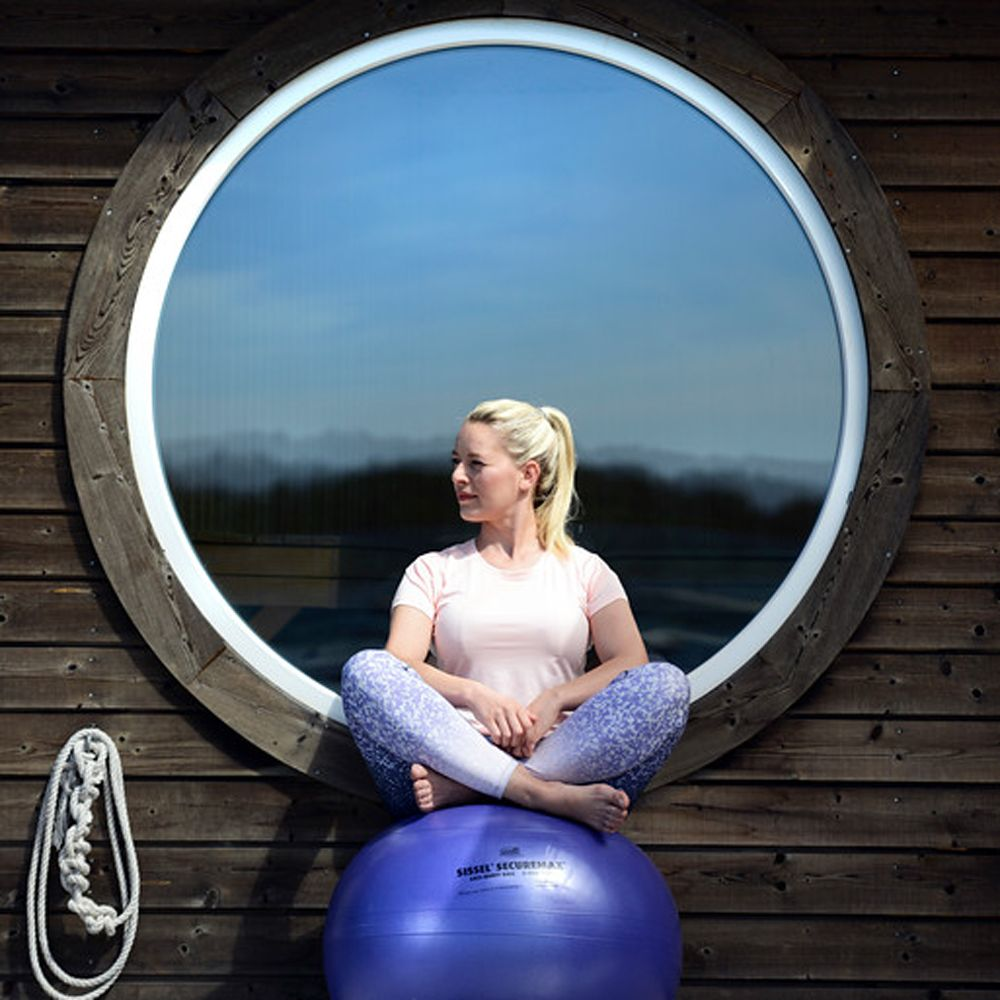 Sissel Securemax Exercise Ball - Improves Back Muscles and Posture