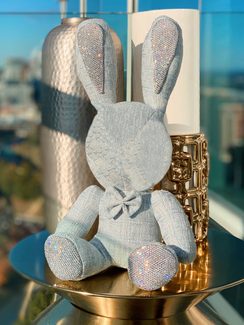 Twinkle Luxe™ Stuffed Rabbits