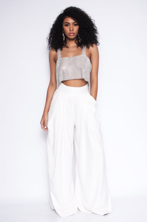 White Fig Trousers
