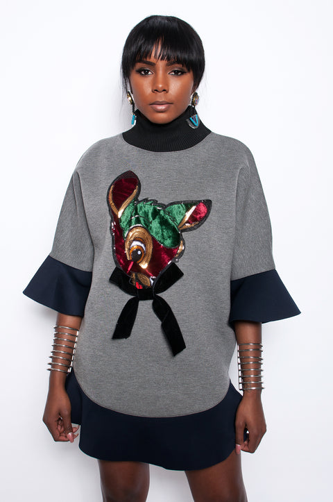 Bambi Slay Sweater Dress