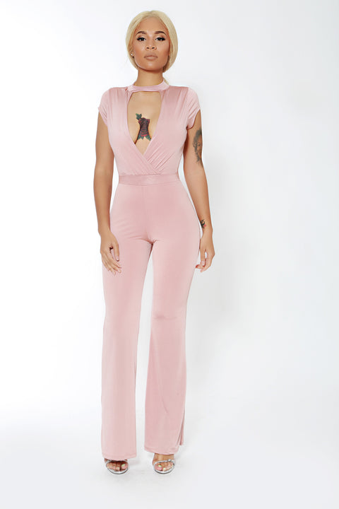 Blushing Babe Jumpsuit