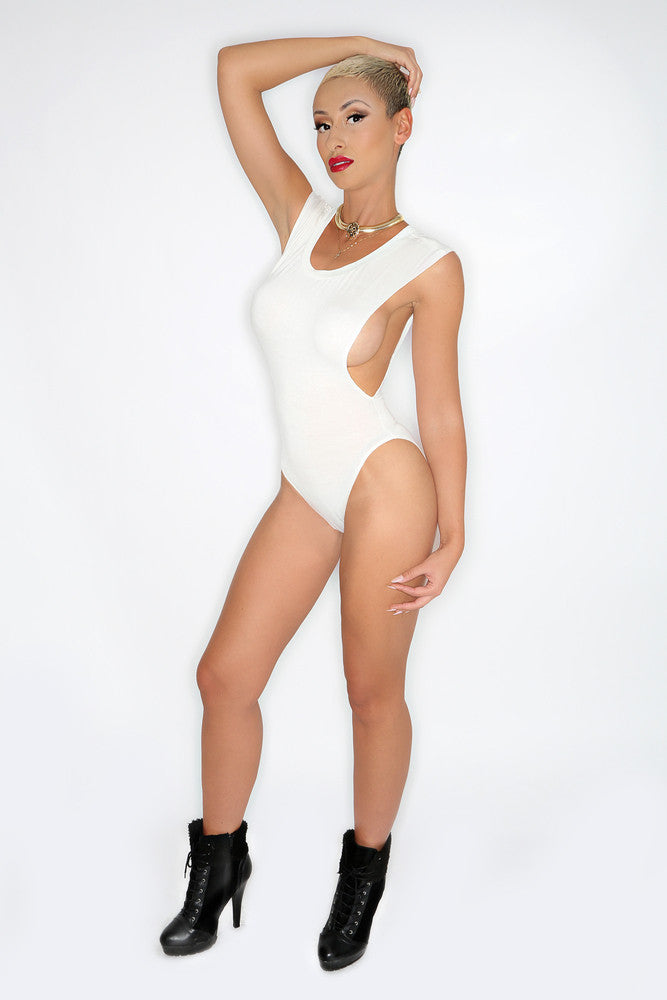 White Smoke Bodysuit
