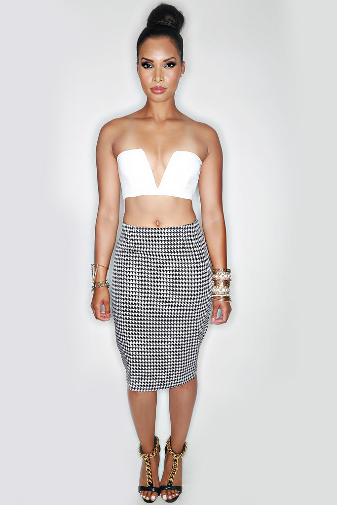 Bloodhound Pencil Skirt