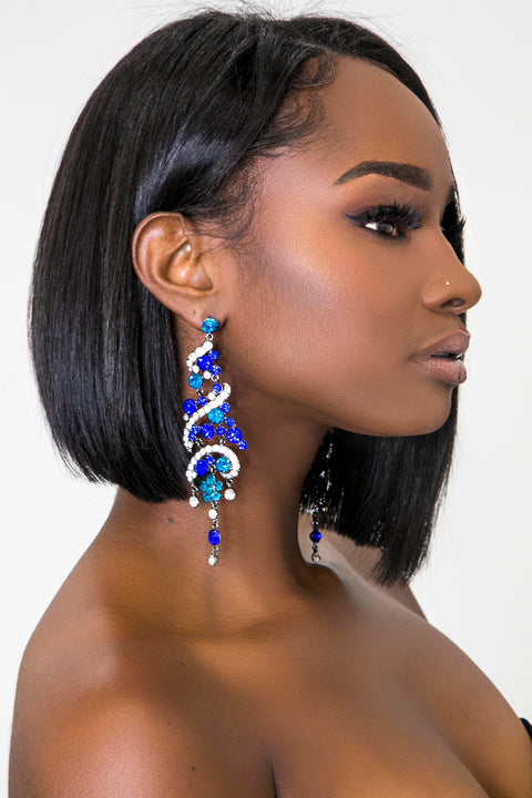 SWANK's Spiral Earrings