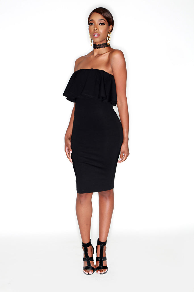 Llauryn Dress - Black