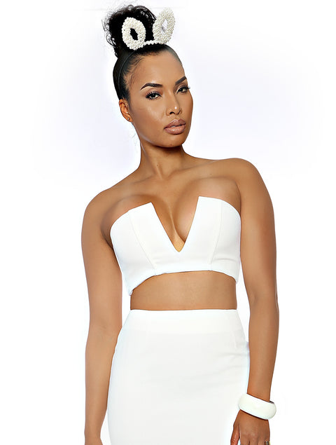 My Way Bandeau (White)