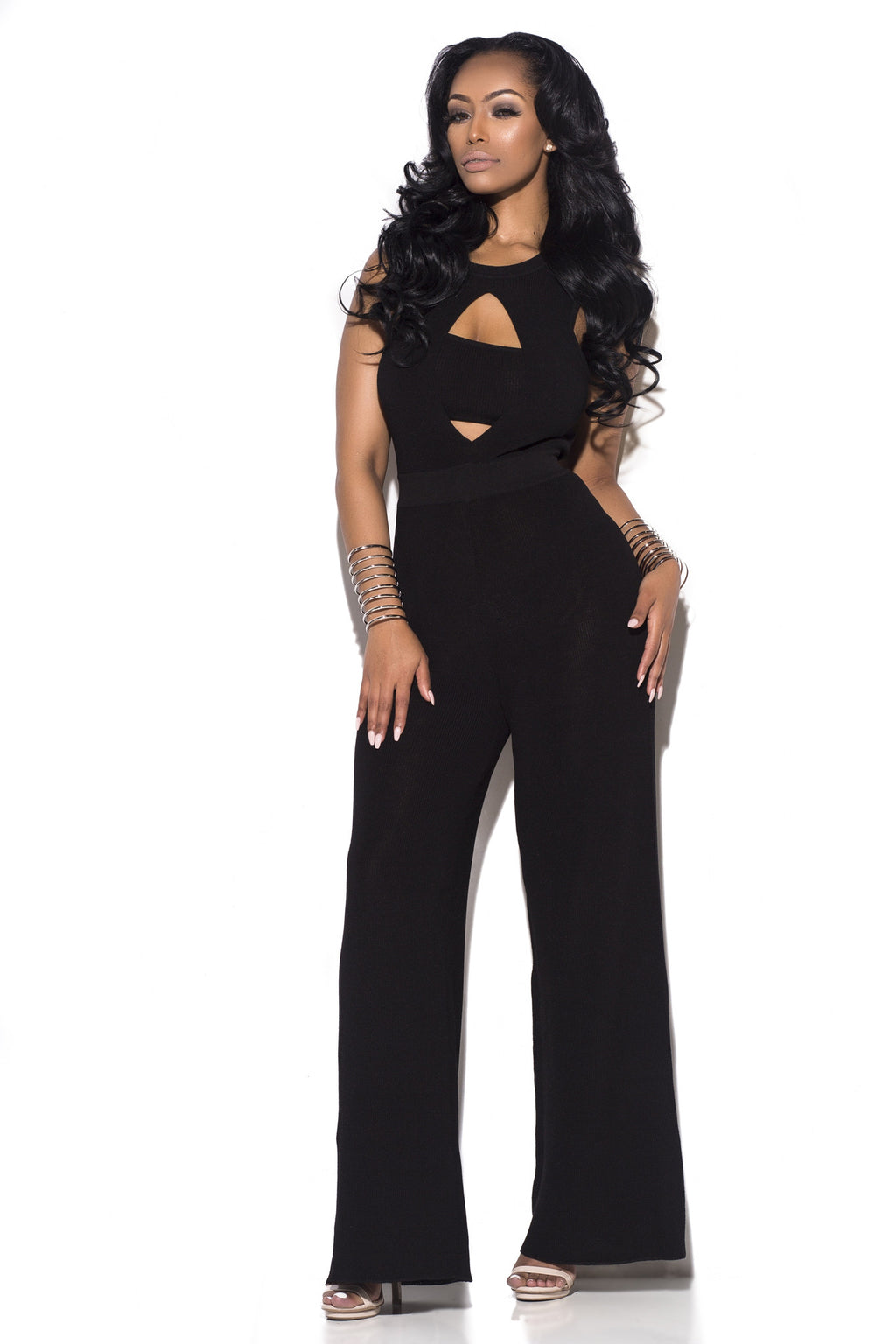 Band-O Jumpsuit - Black
