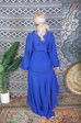 Desert Tea Dress BLUE