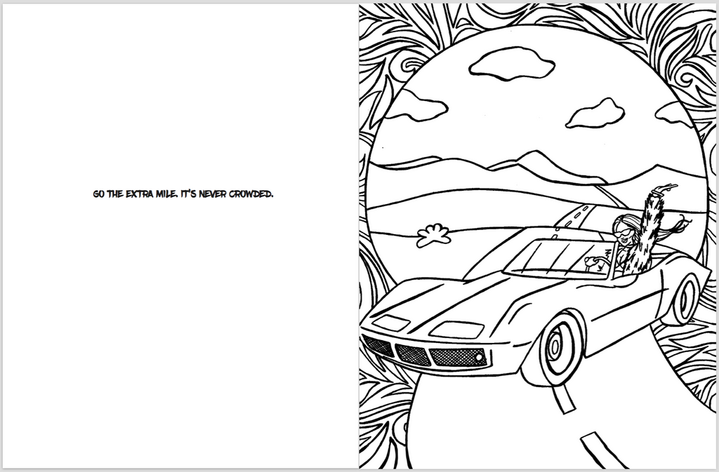 Color Like A Boss An Adult Coloring Book For Bo Chicks