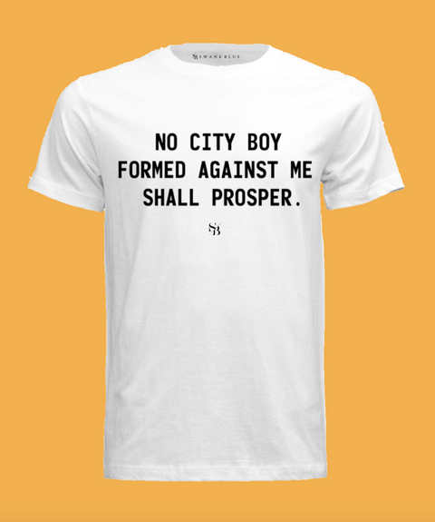 No City Boy Tee
