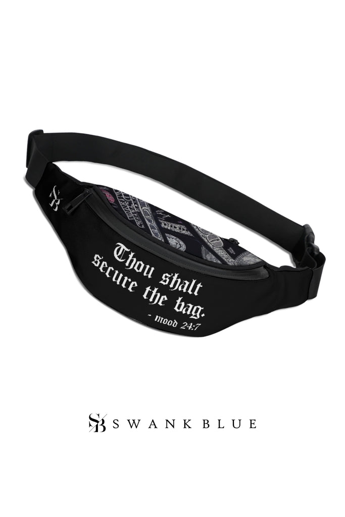 Black Money Fanny Pack