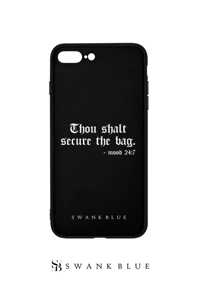 Thou Shalt Secure The Bag iPhone Case