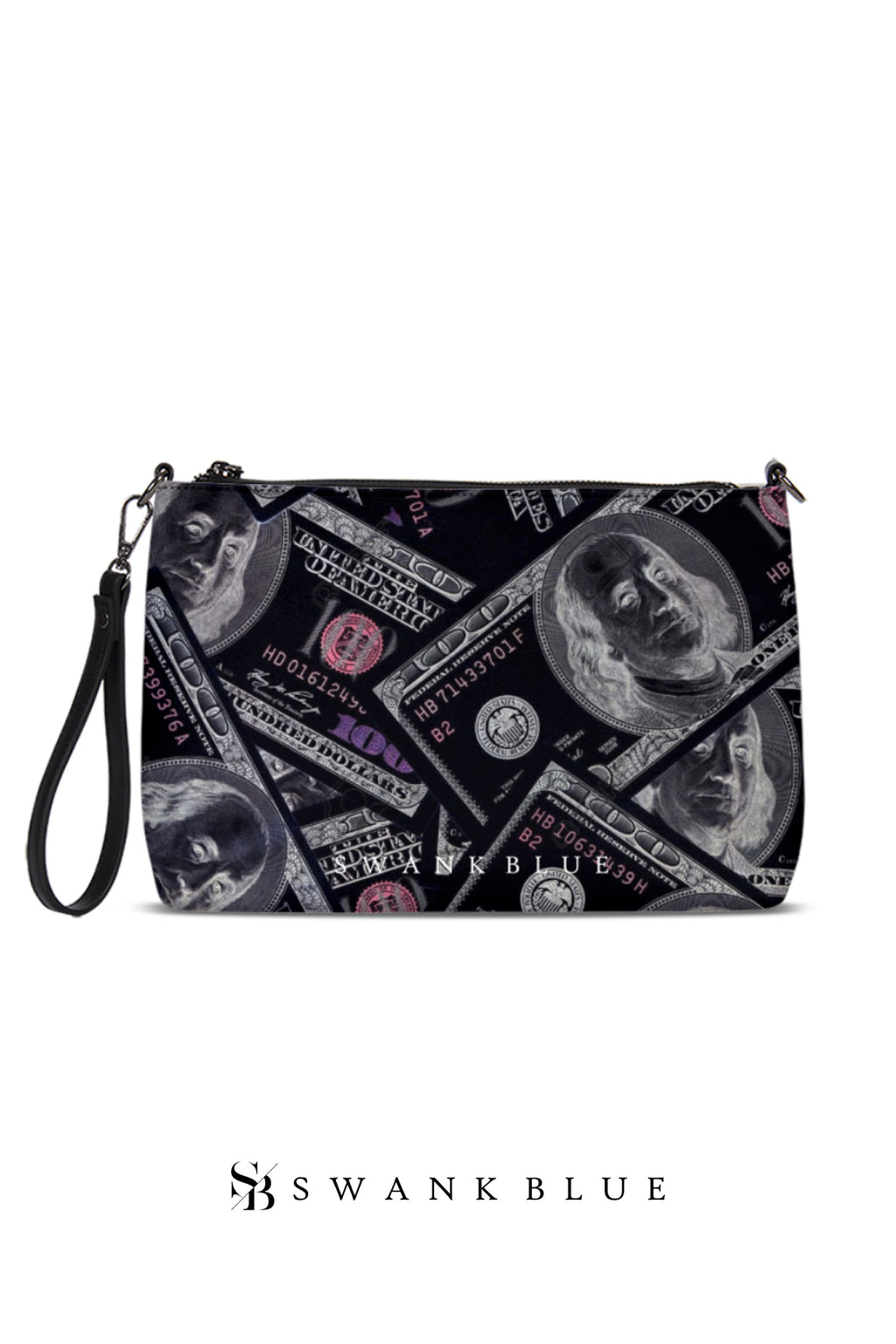 Black Money Clutch