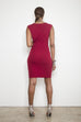 Got The Drop Dress - Burgundy