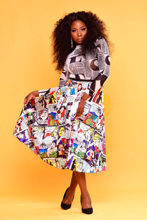 Fun Pages Skirt