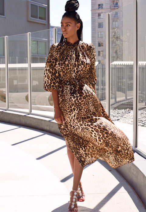 Nandi Leopard Dress