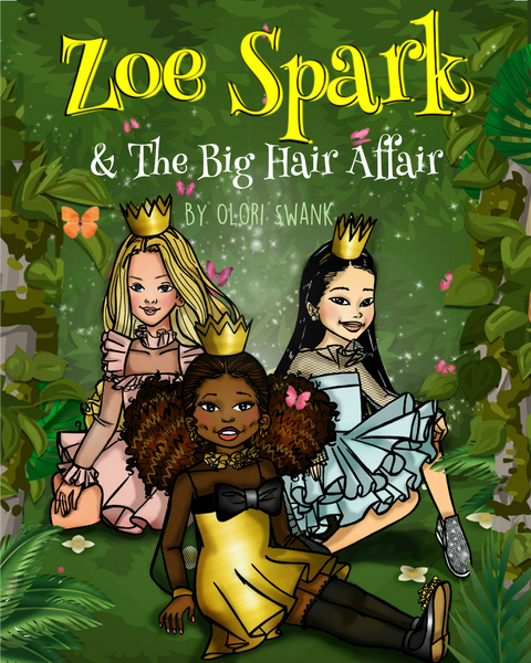 Zoe Spark & The Big Hair Affair - Children's Book