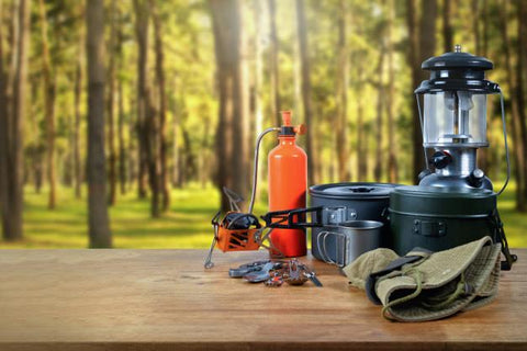 Grill Burner Stove Cookware Outdoors WILDLANDS