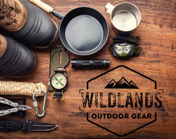 WILDLANDS logo with Outdoor Gear Blog image