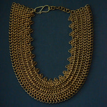 Load image into Gallery viewer, Nefertiti Chainmaille Collar Necklace