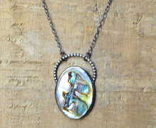 Load image into Gallery viewer, Abalone Shell Necklace