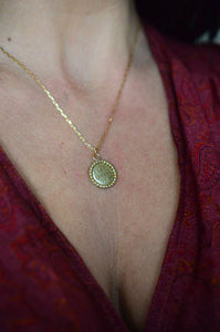 Ornate Coin Necklace