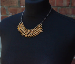 Astra Chainmaille Necklace