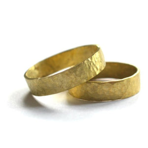 Brass Stacking Ring