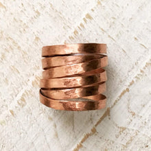 Load image into Gallery viewer, Copper Wrap Ring