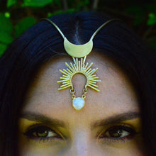 Load image into Gallery viewer, Serene Goddess Headpiece