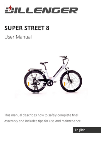 Dillenger Super Street 8 User Manual
