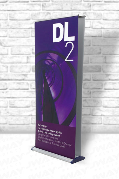Double Sided Deluxe Retractable Banner