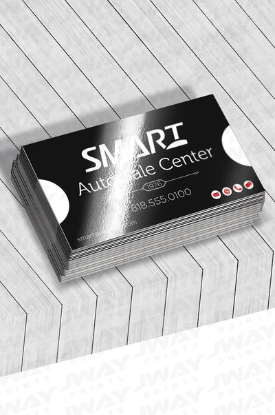 Water Resistant Luster Business Cards