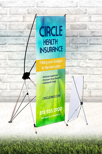 X-Style Outdoor Banner Stand