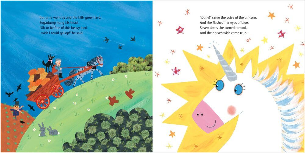 Sugarlump and the unicorn Book - The Mango Tree
