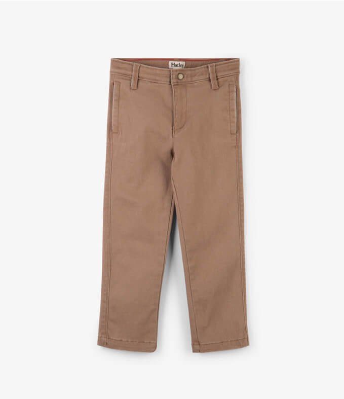 Hatley Khaki twill Trousers - The Mango Tree