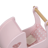 Moover doll Pram bedding set pink - The Mango Tree