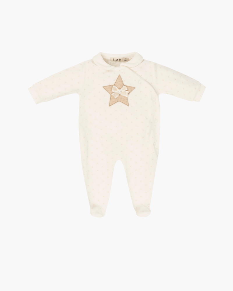 Everything Must Change Star Detail Babygrow - The Mango Tree