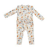 Autumn Owls Zipper Babygrow - The Mango Tree