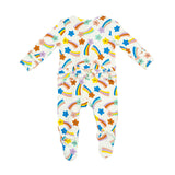 Shooting Stars Zipper Babygrow - The Mango Tree
