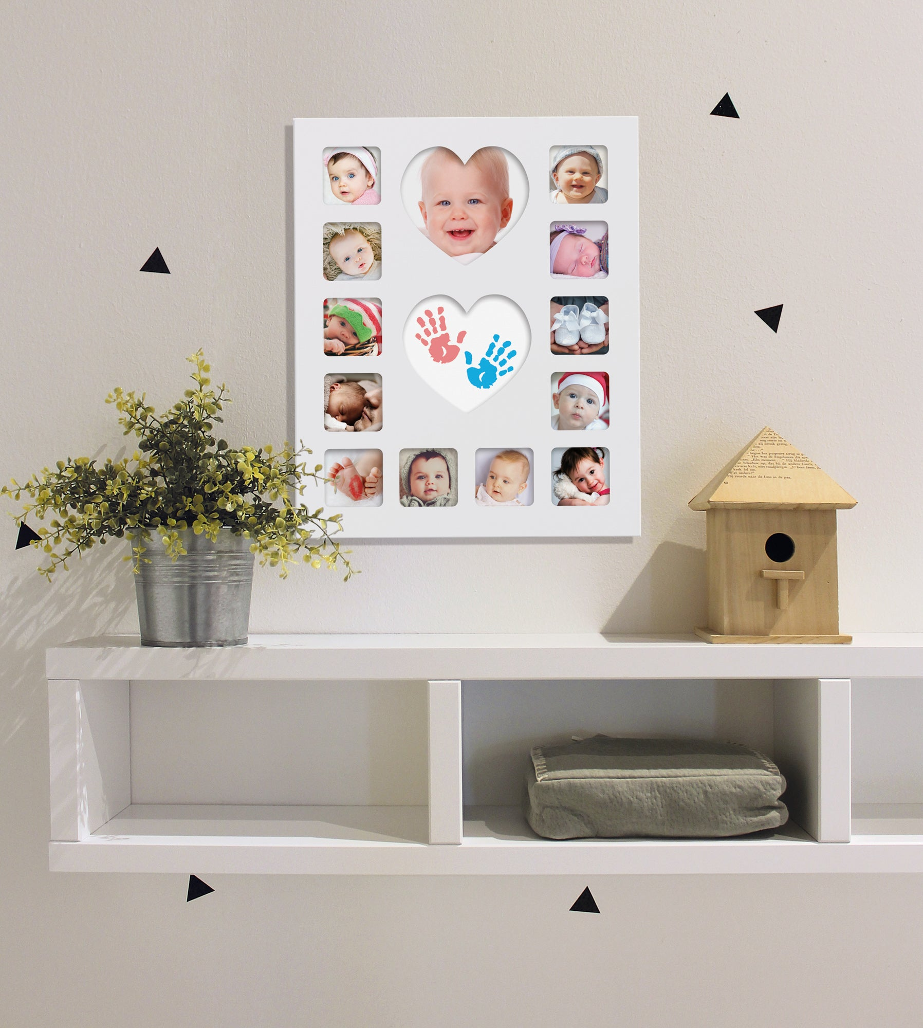Happy Hands Baby Inkless First Year Frame Kit - The Mango Tree